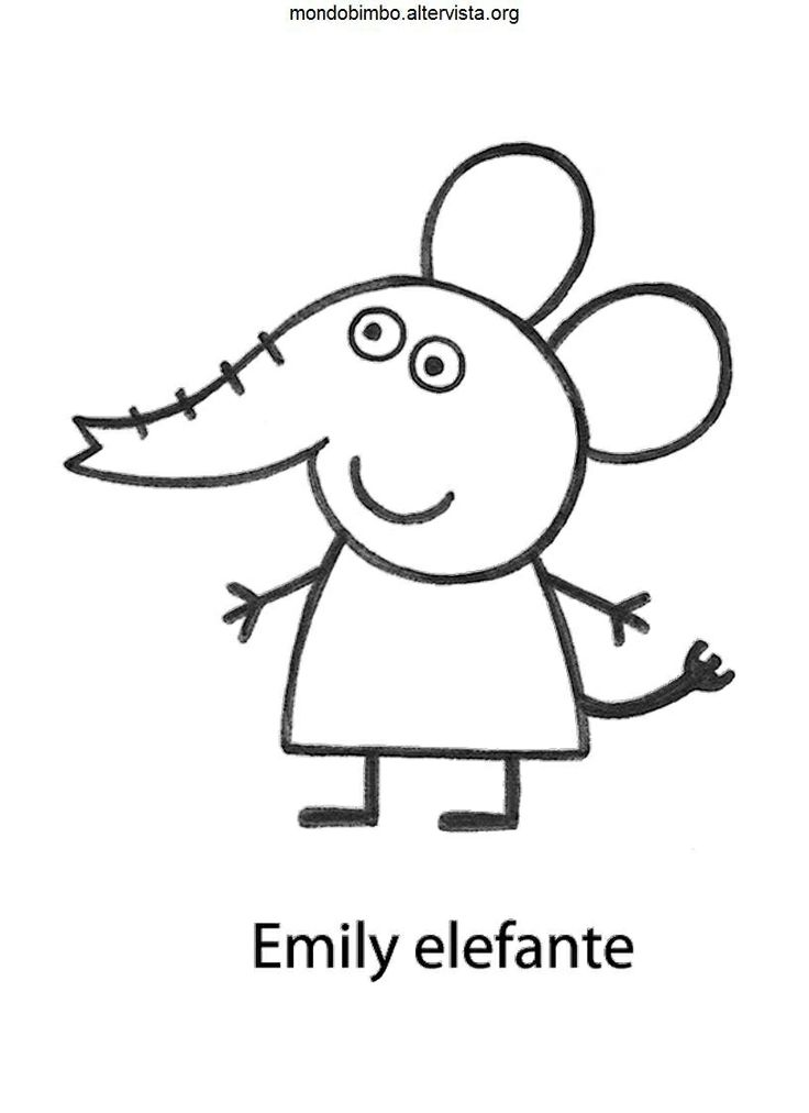 29 best images about peppa pig on pinterest dibujo for Immagini peppa pig da colorare
