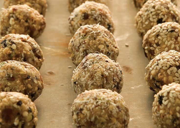 bliss balls | made with millet, quinoa or rice and all kinds of mixed nuts and dried fruit, they are a healthy sweet treat that will last for months and months #recipe #foodwise