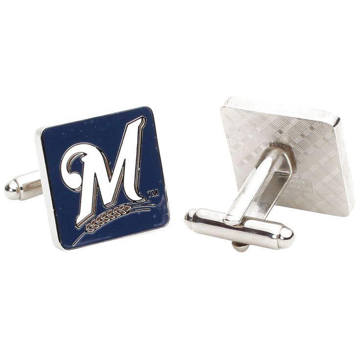 Milwaukee Brewers Logo Cufflinks - $47.99