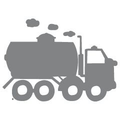 Cistern Truck - Toy, Plane & Trucks - Muurstickers - ApplePie Design