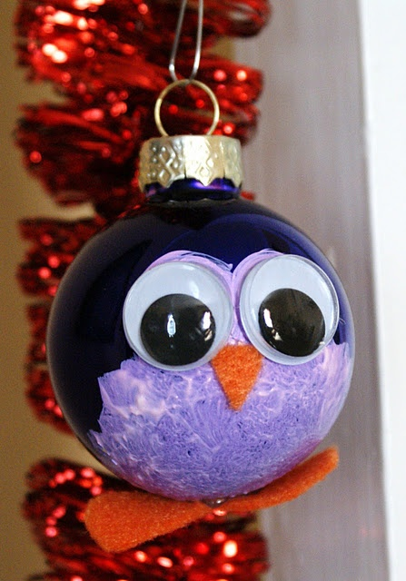 Penguin Ornament With Light Bulb Too Christmas Crafts