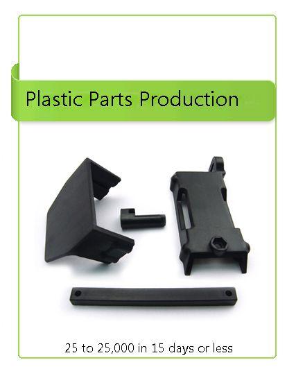 plastic parts production