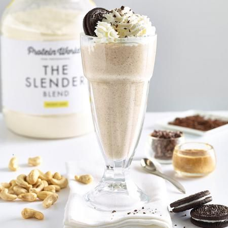 Slender Cookies and cream smoothie