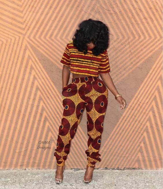 modernes pièces de mode africaine