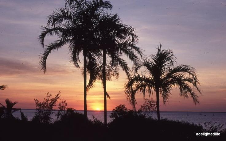 Sunset on Fanny Bay Darwin , Northern Territory Australia