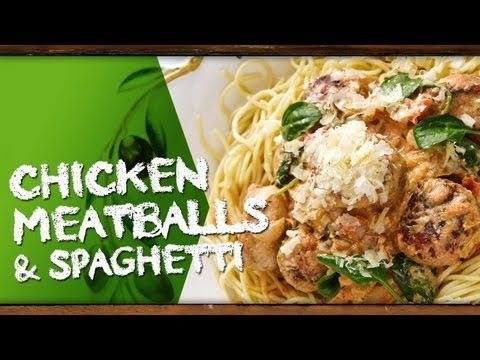 How to cook Chicken Meatballs & Spaghetti with Kim McCosker  Repin for later!