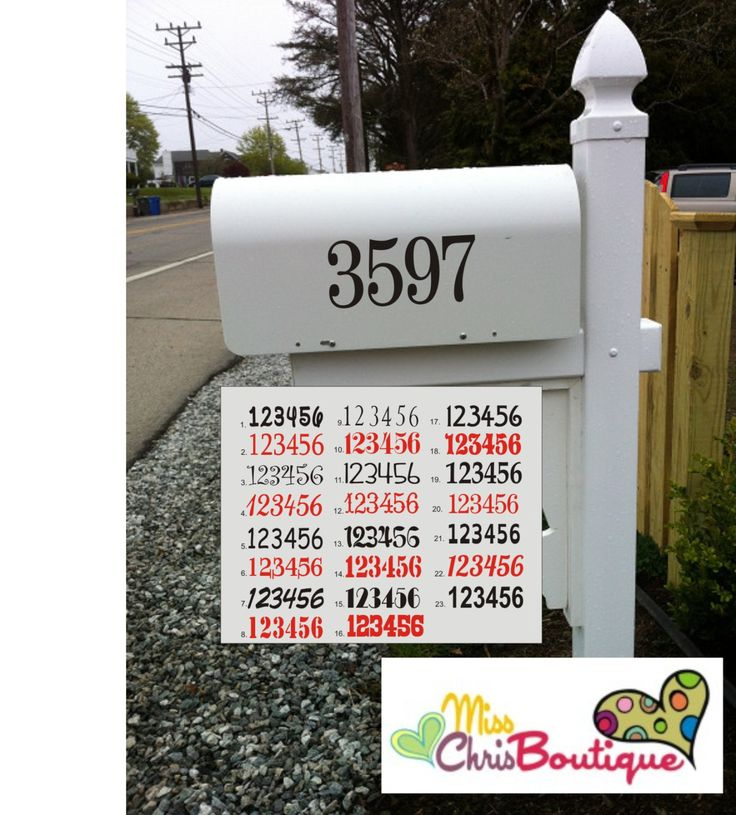 how to find mailbox number