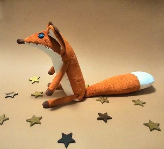 FOX - Fox plush-Fox stuffed animal-Toys-Plush toy Prince-The little fox-gift children
