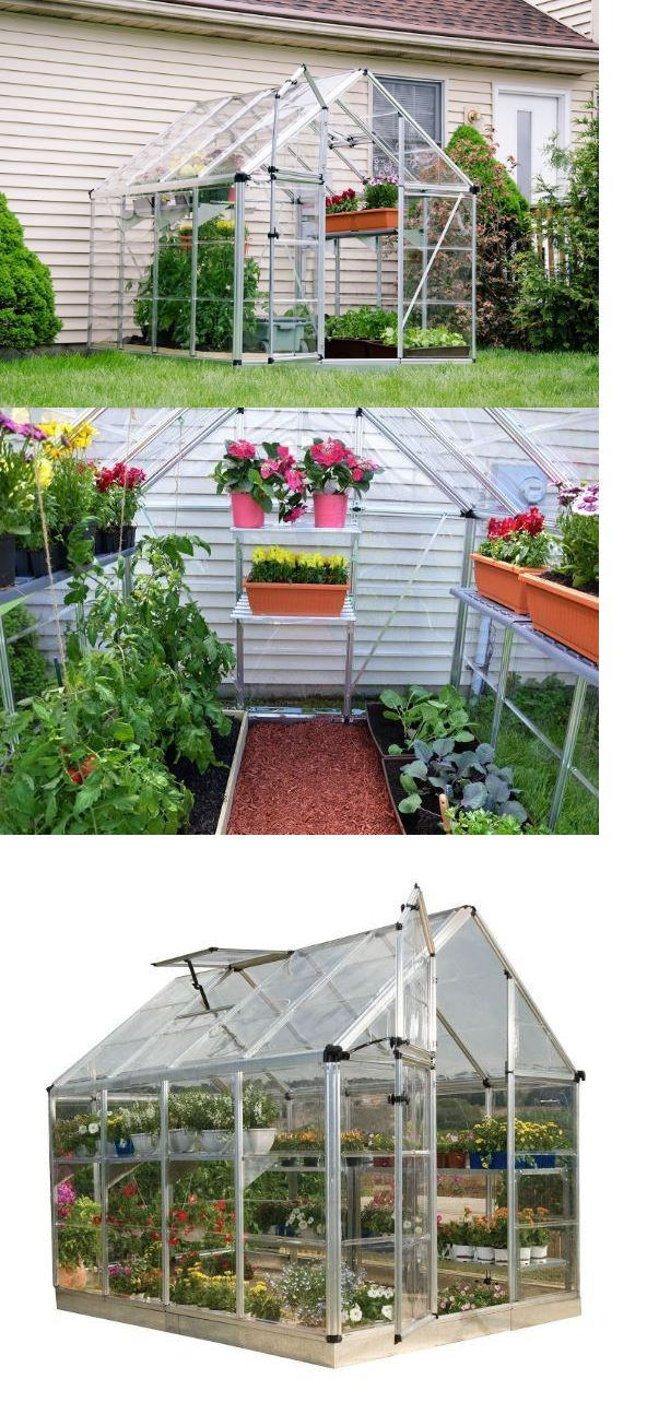 Greenhouses and Cold Frames 139939: Mini Greenhouse Kits For Sale 6X8 Plants Raised Garden Growing Plants Vegetables -> BUY IT NOW ONLY: $925.99 on eBay!