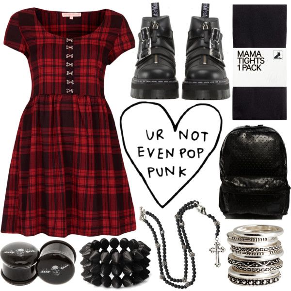 """not much pop punk on you"" by annybarros on Polyvore"