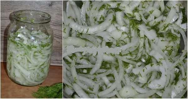 Очень вкусный маринованный лук для шашлыка, салата и просто так тоже очень вкусно!