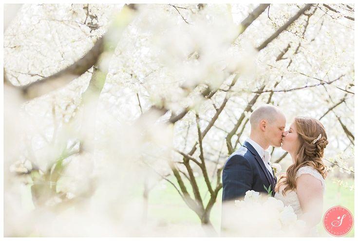 Niagara Romantic Orchard Blossom Wedding Pictures | Cherry Blossom Wedding Photos | A Magical Spring Blossom Wedding at Pillar and Post | Niagara-on-the-Lake | Niagara Weddings | © 2016 Samantha Ong Photography