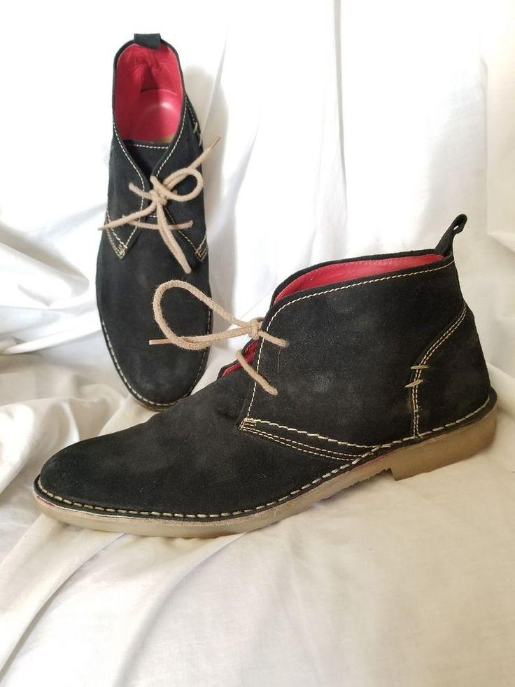 Zara mens shoes sz 10 US 43 EUR desert boots black suede ZR-75 young line  | Clothing, Shoes & Accessories, Men's Shoes, Boots | eBay!