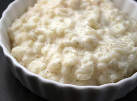 This is a lovely creamy rice pudding that is very simple to make.I got this recipe many, many years ago from a local farm paper. It is the best rice pudding I've ever tasted.