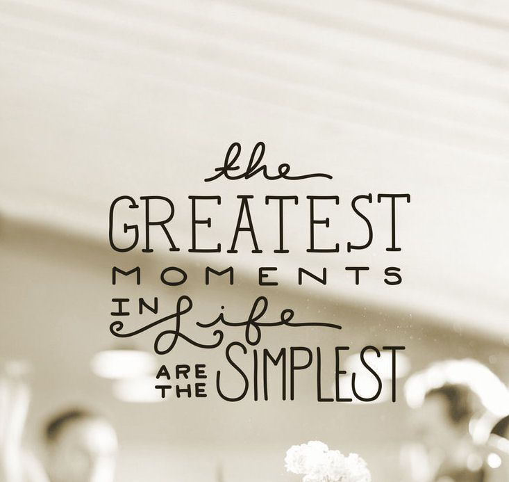 Simple Little Things In Life Quotes Daily Inspiration Quotes