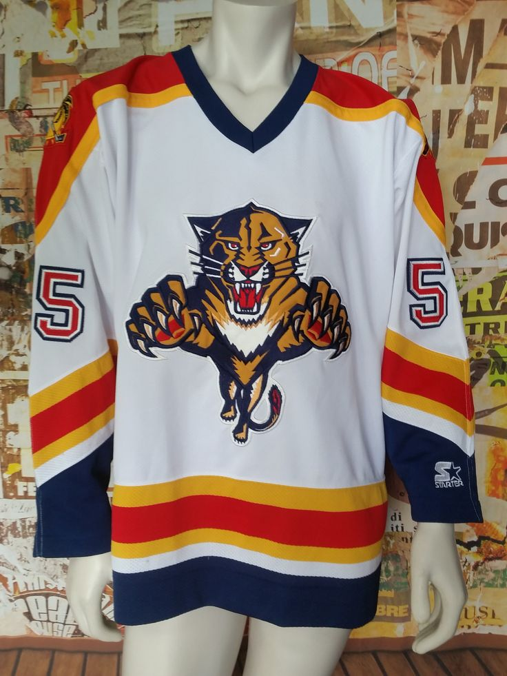 finest selection 57fc7 87b2c florida panthers starter jersey