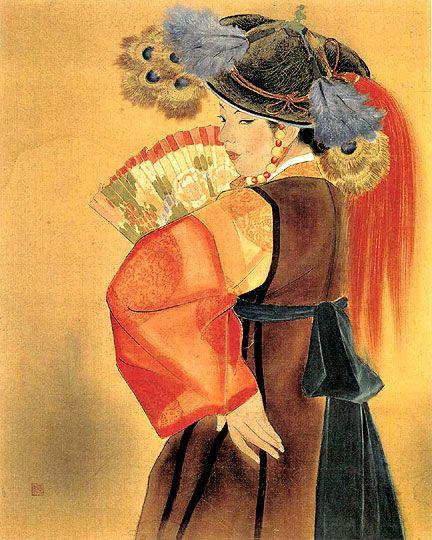 운보 김기창 전복도 1934