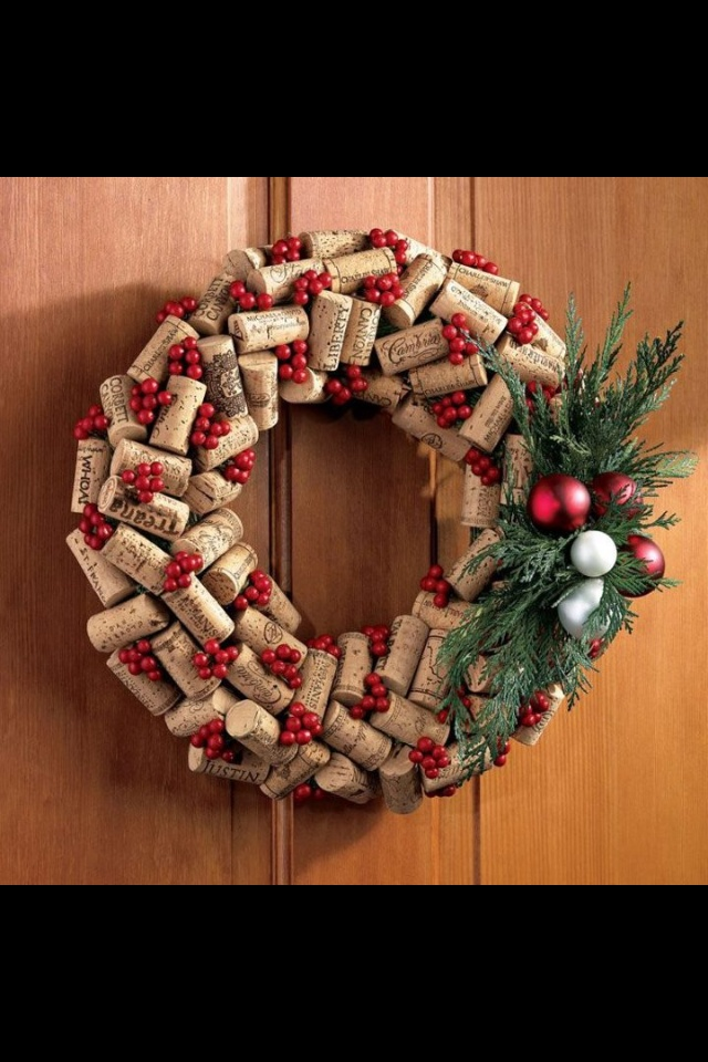 Something to do with all my wine corks!