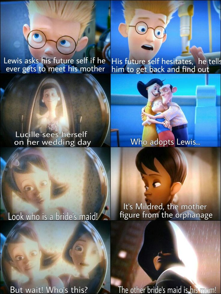 Meet the Robinsons. Who is Lewis' mom?