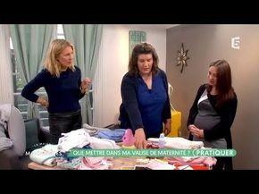 Valise de maternité : on vous fait la liste complète ! - YouTube