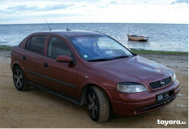 Annonce de vente de voiture occasion en tunisie OPEL ASTRA Monastir