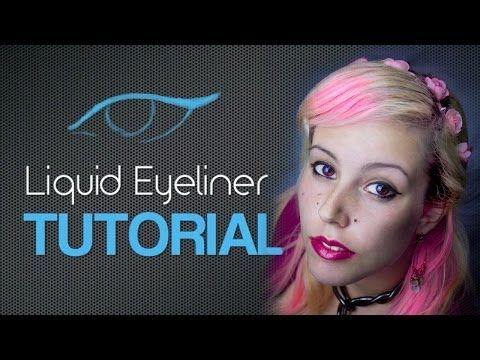 How To: Easy Liquid Eyeliner Tutorial
