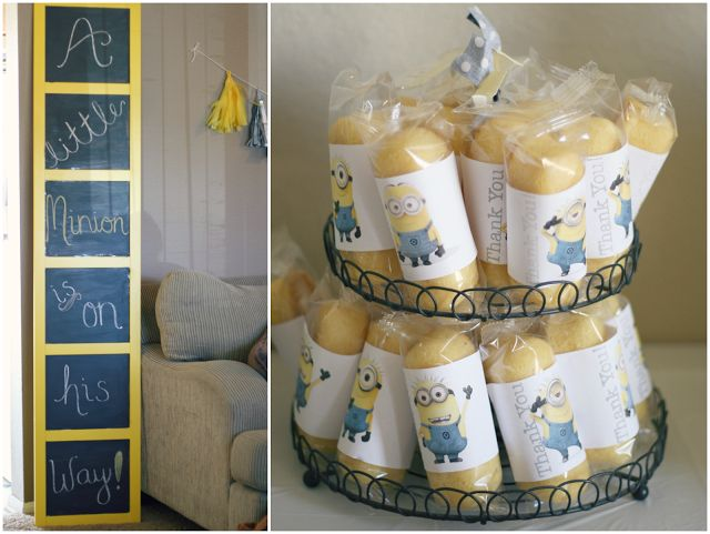 shower baby shower ideas minion themed baby shower minions baby shower