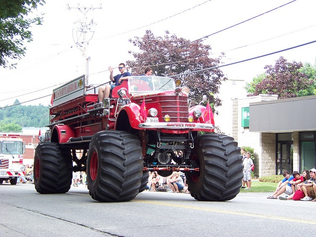 images monster fire truck - Google Search