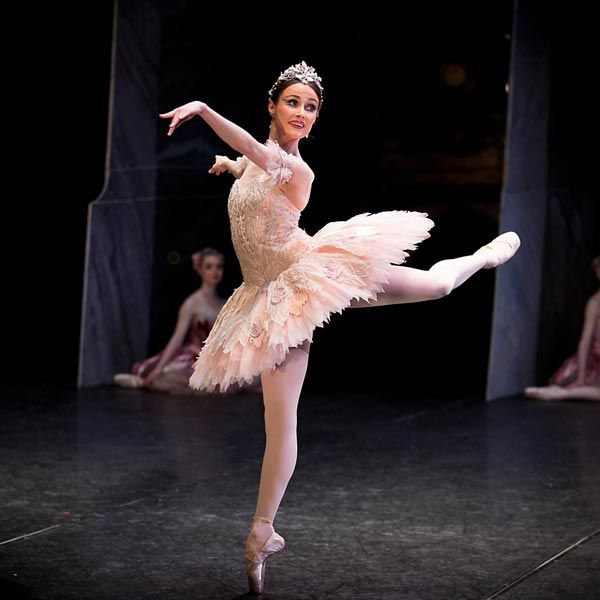 Amber Scott as the Sugar Plum Fairy. Australian Ballet. Photography Lynette Wills.