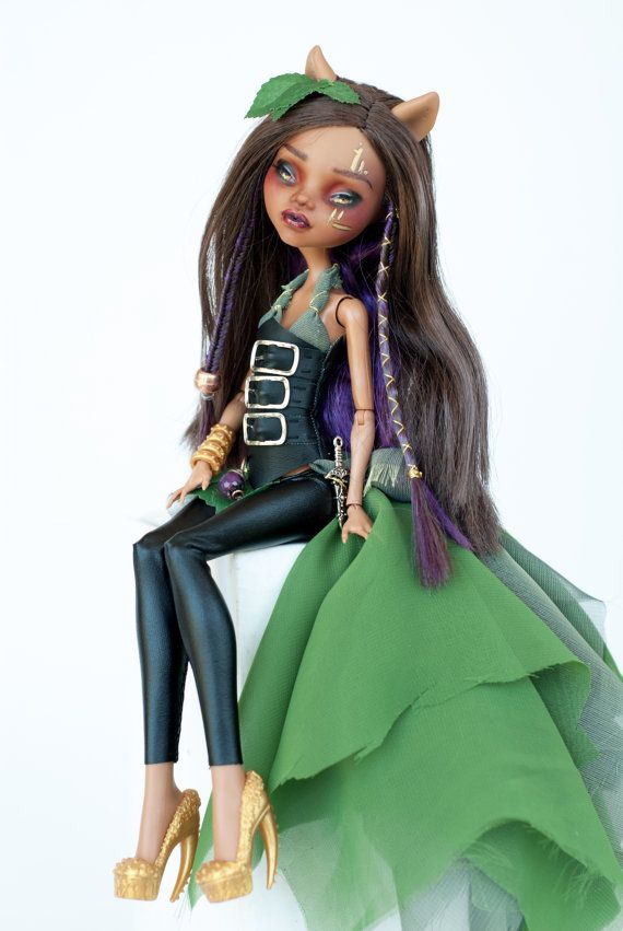Evie the woodland elf Clawdeen Monster High One by ColourToTheBone