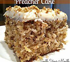 Shortcut Preacher Cake | FaveSouthernRecipes.com