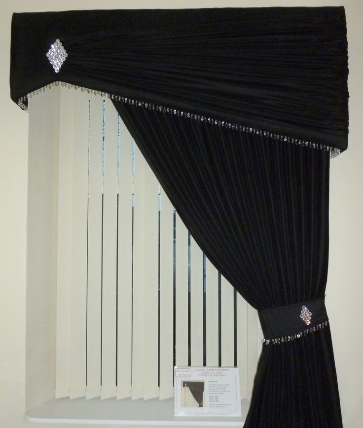 Pelmet and Curtain in our Shooting Star design.