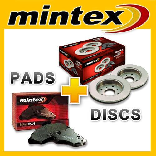 Mintex Brake Discs & Pads FORD Mondeo III ST220 Rear in Vehicle Parts & Accessories, Car Tuning & Styling, Performance & Tuning Parts | eBay