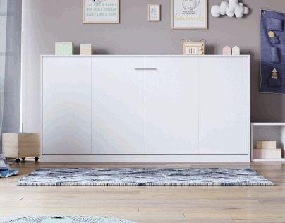 die besten 25 schrankbett klappbett ideen auf pinterest klappbett murphy bett b ro und futon. Black Bedroom Furniture Sets. Home Design Ideas