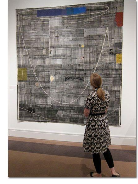 Dorothy Caldwell | Surface Design Workshop | Human Marks art class | Crow Timber Frame Barn Art Retreats