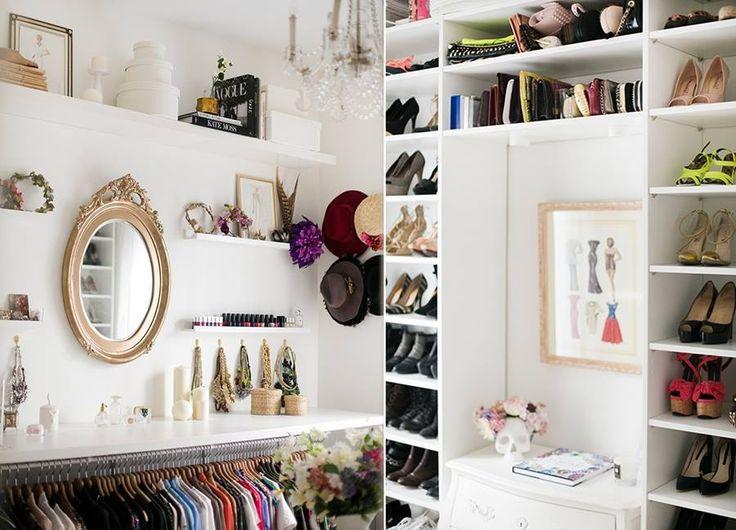 M s de 1000 ideas sobre armario improvisado en pinterest - Organizacion de armarios ...