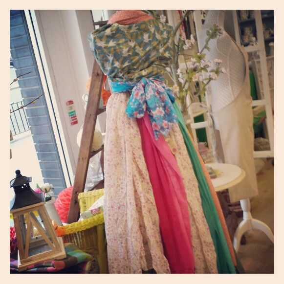 #scarf #lady #hemandedge #scarf #spring2014 #teacupsandtrinkets www.teacupsandtrinkets.co.uk