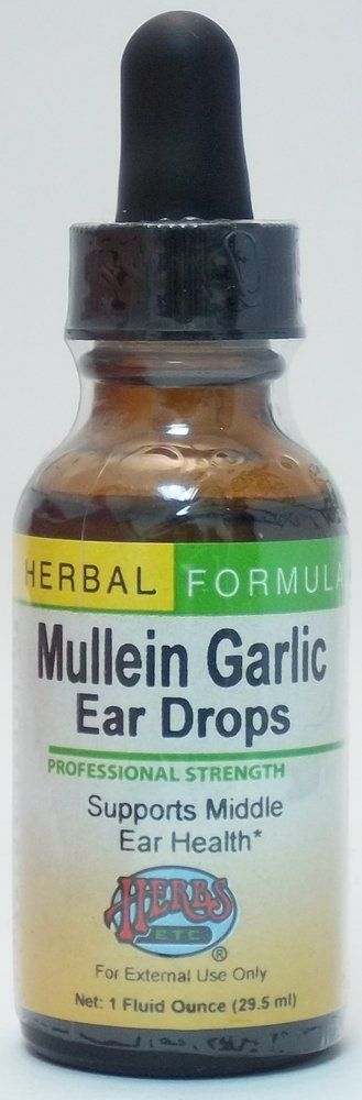 Mullein Garlic Ear Drops. This and a chiropractor keeps my child off of antibiotics for ear infections.