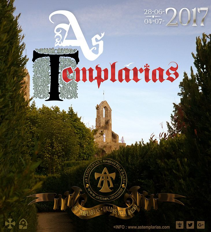 Photograph taken in 2017 of Templarias in the castle of Tomar / Convent of Christ. As Templarias are based in Tomar, Portugal.