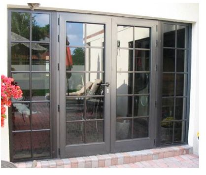 Best 25 double french doors ideas on pinterest double for Double entry patio doors