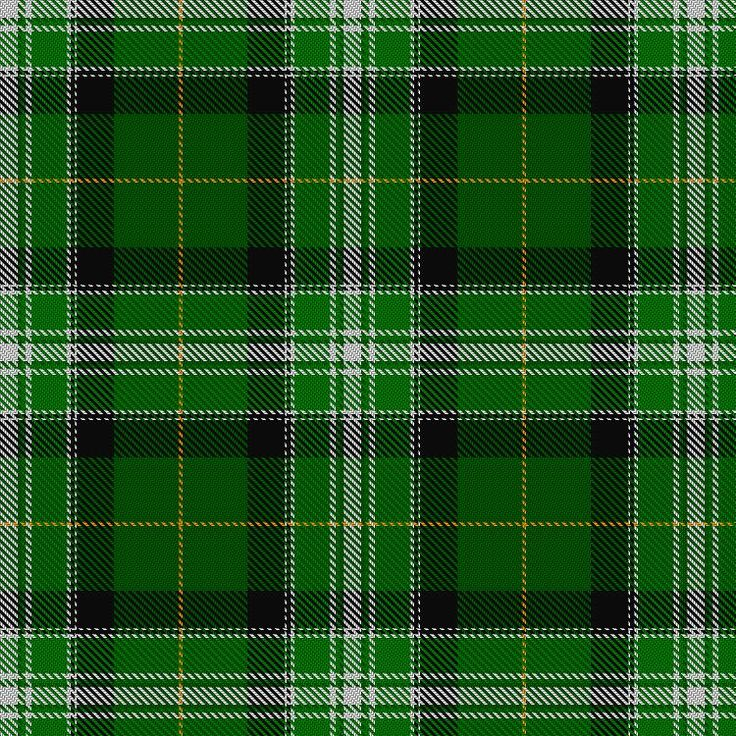 Tartan image: New World Irish. Click on this image to see a more detailed version.