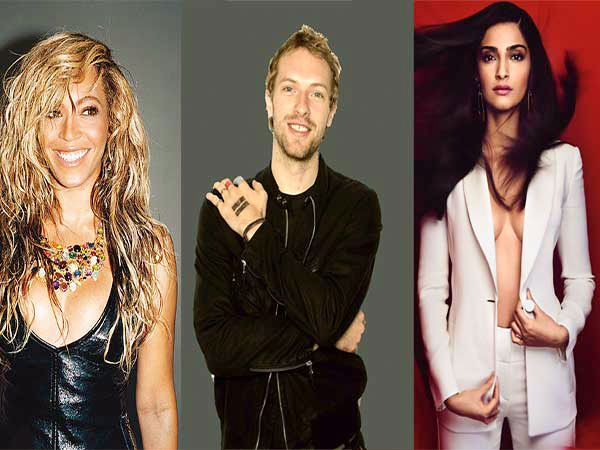 Breathe And Swallow: Sonam To Star In A Coldplay Video Alongside Beyonce - #Coldplay #music #Beyonce #SonamKapoor