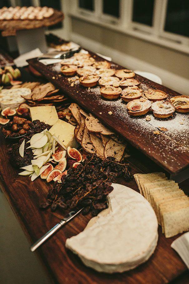 Buffet de mariage rustique chic - fromage