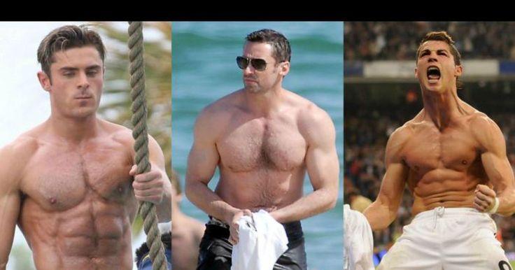 Os dez famosos mais musculados da atualidade   SAPO Lifestyle