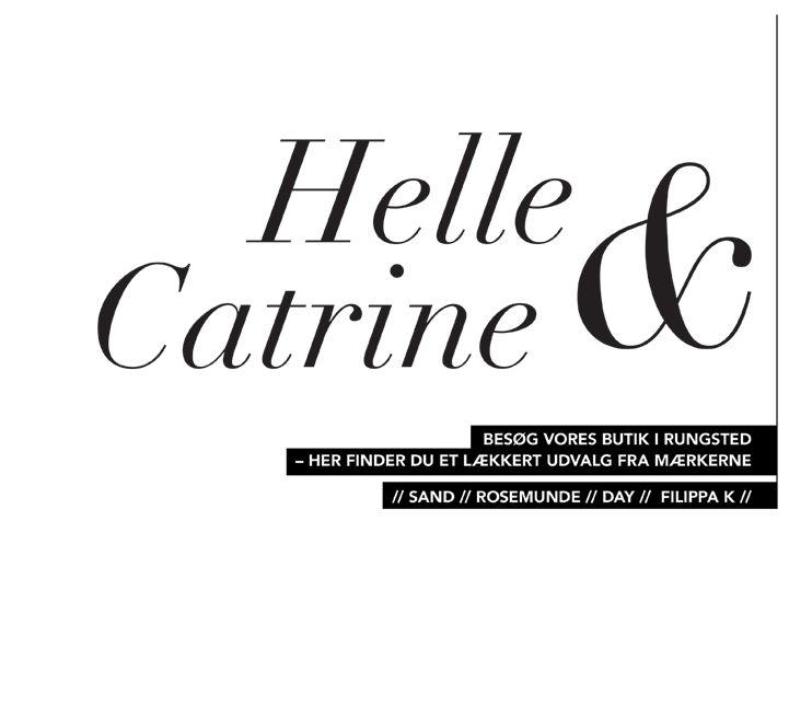 Helle og Catrine