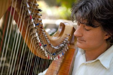 Harp in the Gardens with Michael Johnson