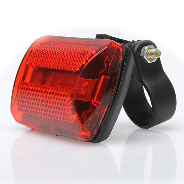 Nueva Llegada Caliente para Bicicleta 5 LED luz Trasera Luz Trasera Bicicleta de La Bici Roja Trasera Luz de Advertencia de Seguridad Luces Intermitentes BHU2