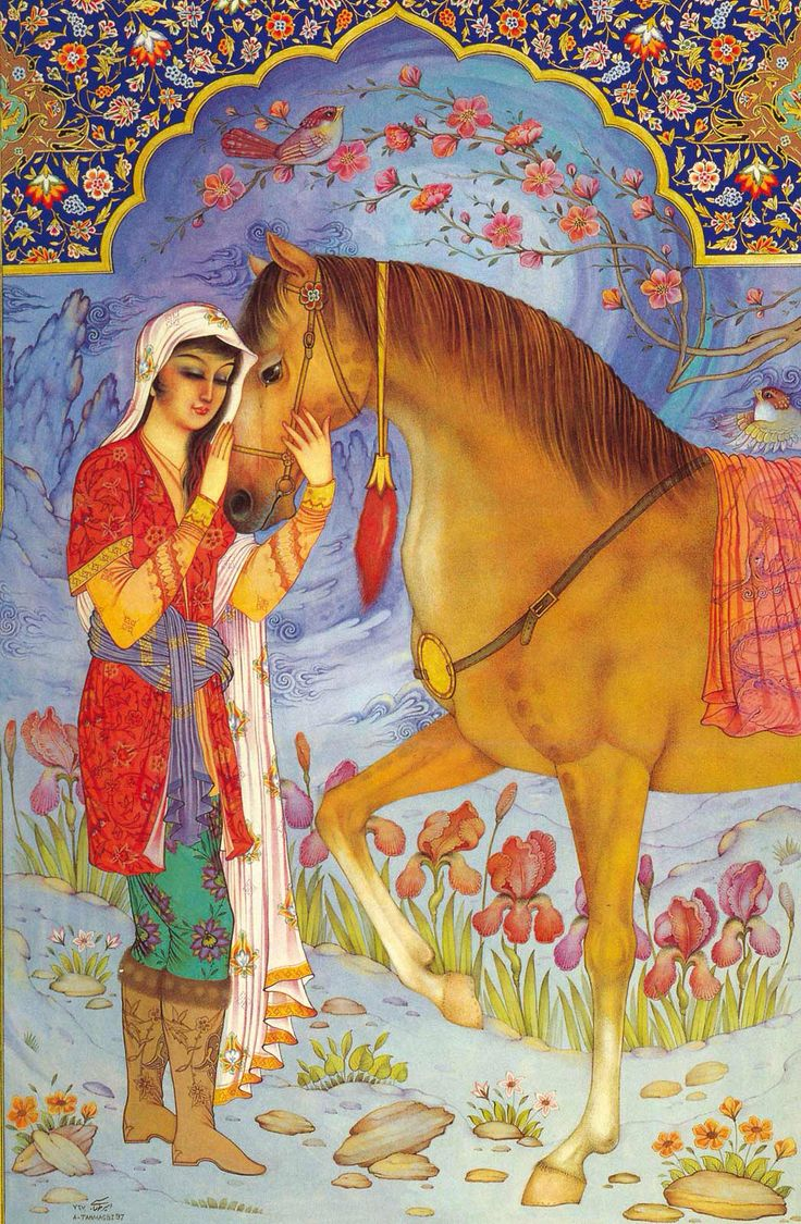 Persian Fairytale Art