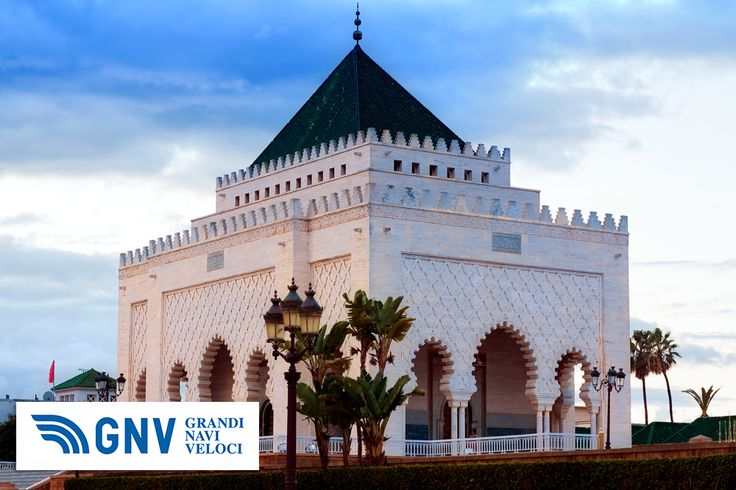 #Mausoleum of #Muhammed_V, #Rabat, #Morocco.Discover #GNV routes from/to #Maghreb here: www.gnv.it/en/.