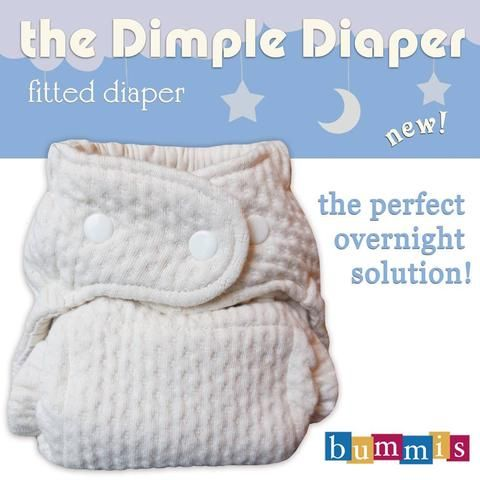 Bummis Dimple Diaper (Organic Cotton) - One Size